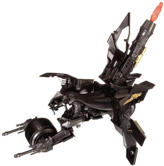 TDKR batman 4inch action fig bat pod