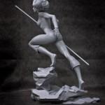 Thundercats une nouvelle statue Cheetara