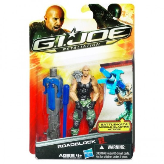 gi joe retaliation hasbro 2012 roadblock