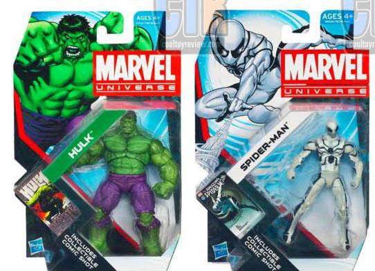 Hasbro Marvel Universe Wave 2 et 3 2012 packaging
