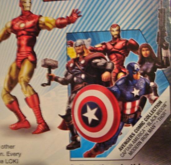 Marvel univers Pack avengers 2