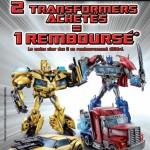 Transformers 1 acheté 1 offert