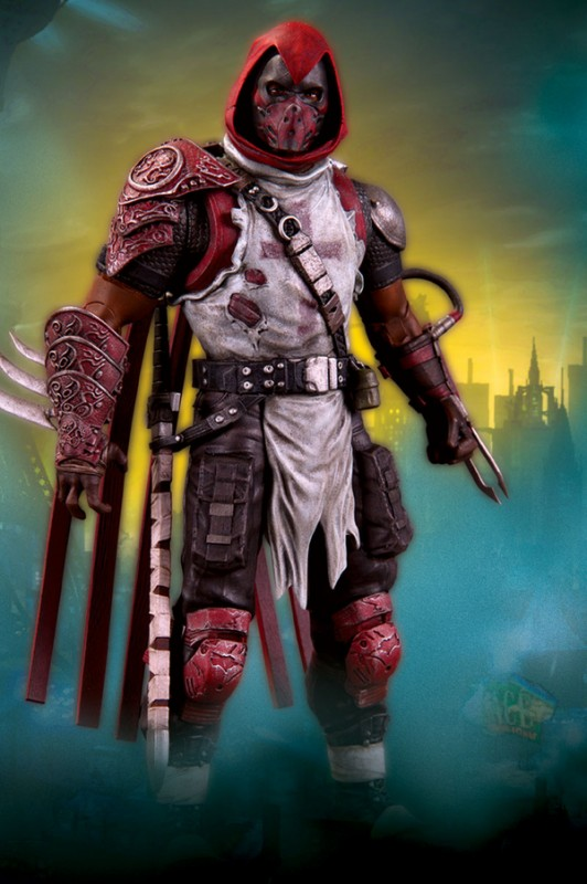 BATMAN Arkham City DC direct serie 3 Azrael