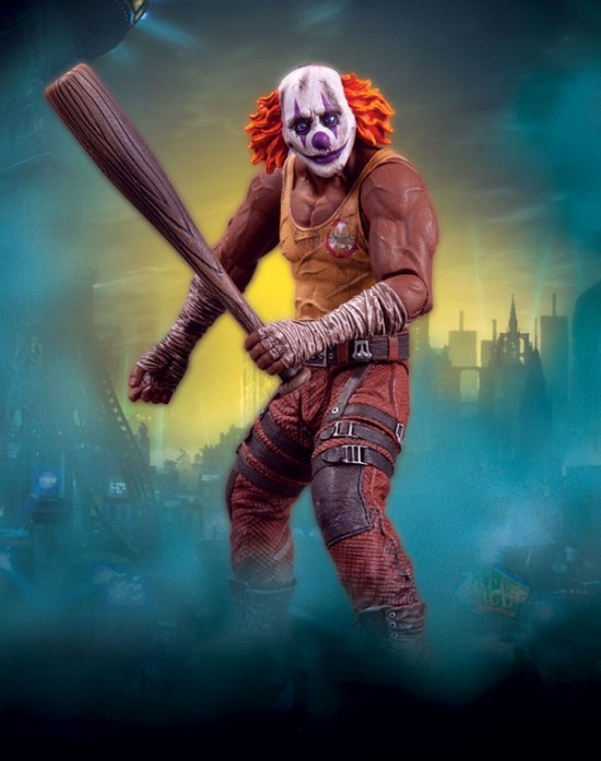 BATMAN Arkham City DC direct serie 3 Clown Thug Bat