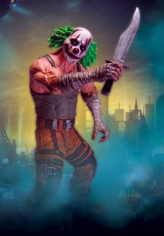 BATMAN Arkham City DC direct serie 3 Clown Thug Knife