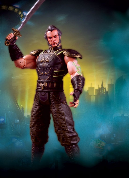 BATMAN Arkham City DC direct serie 3  RasAhGhul