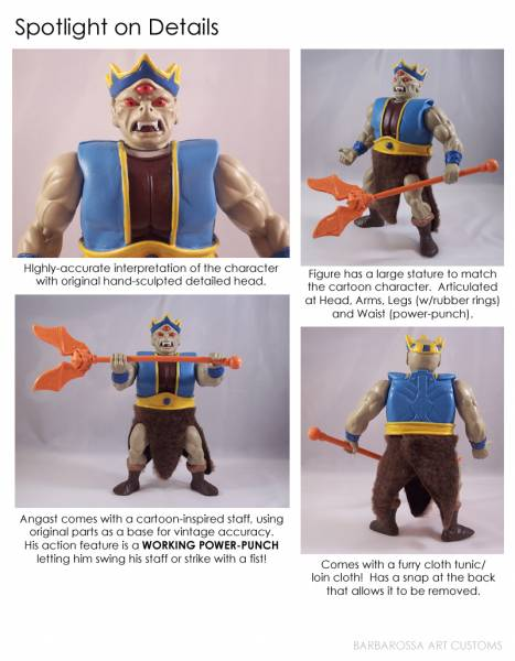 Barbarossa Art Lulu-Berlu ANGAST masters of the universe