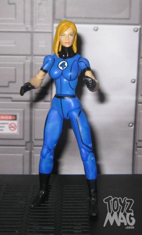 Fantastic four 4 Marvel Universe Hasbro - invisible woman la femme invisible sue storm