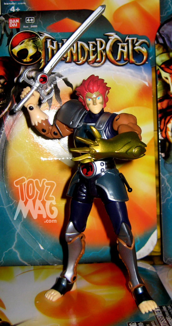 "Lion-O 6"" 15cm Thundercats animated serie 2012 BANDAI"