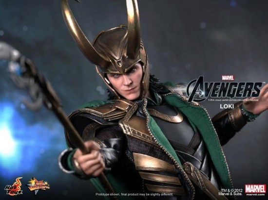 The Avengers Loki Limited Edition Collectible Figurine HOT TOYS