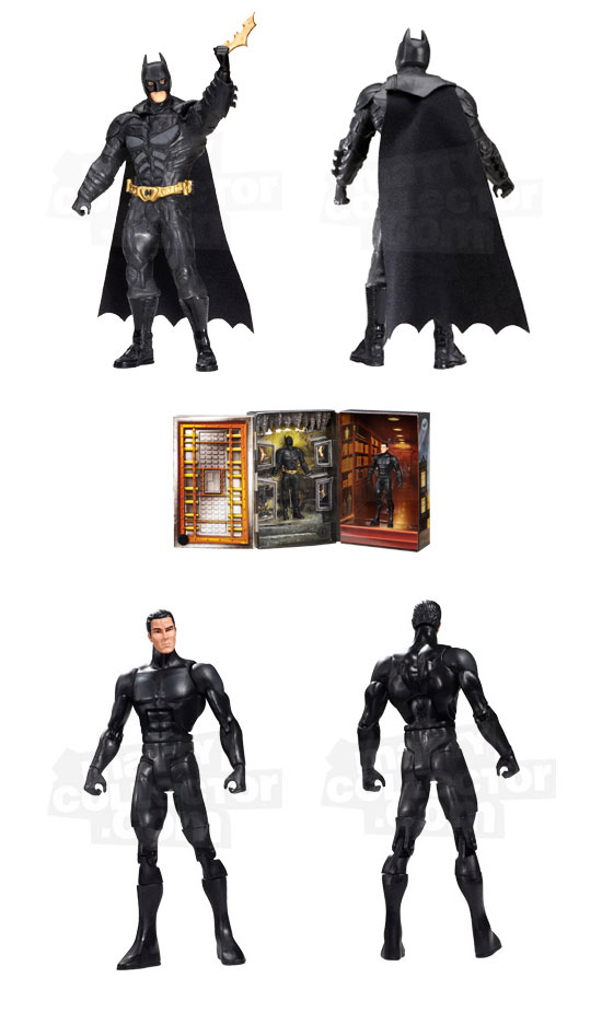 Bruce Wayne to Batman The Dark Knight Rises  Movie Masters  Figure sdcc 2012