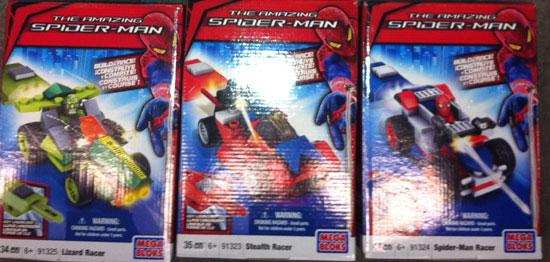 the amazing spider-man megabloks