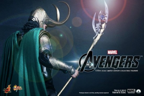 the avengers hot toys Loki