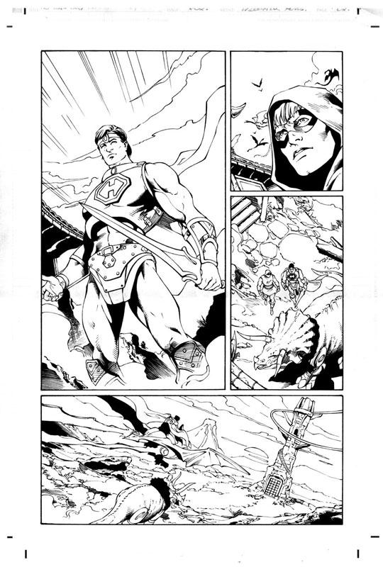 new power of grayskull 2 motuc mini comic cover