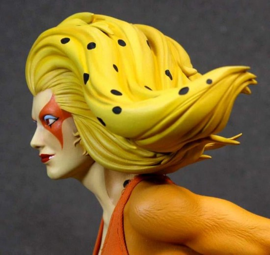 Cheetara  - la statuette finalisée Pop Culture Shock Collectibles Inc