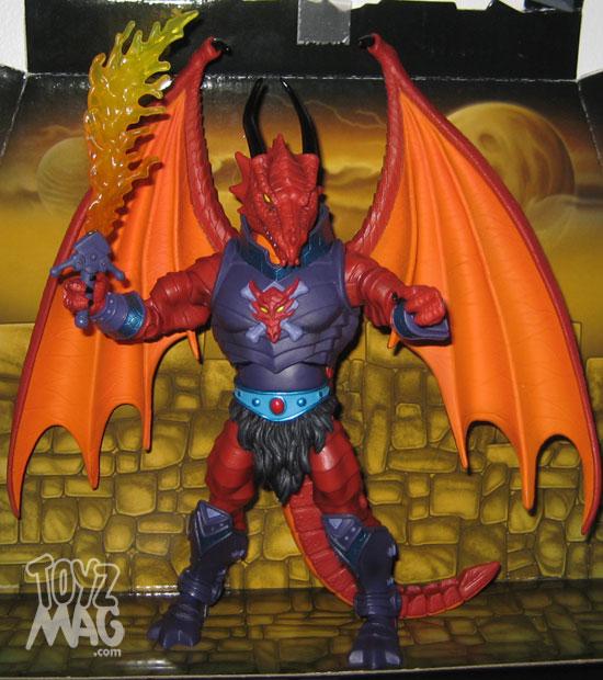 Draego-Man Motuc mattel