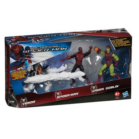 Kmart 3pack Spdier-man amazing green goblin anti-venon hasbro