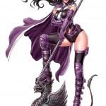The Huntress arrive en Bishoujo