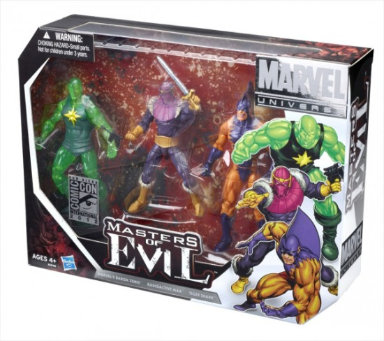 Masters of Evil Special Edition 3-pack HASBRO SDCC 2012