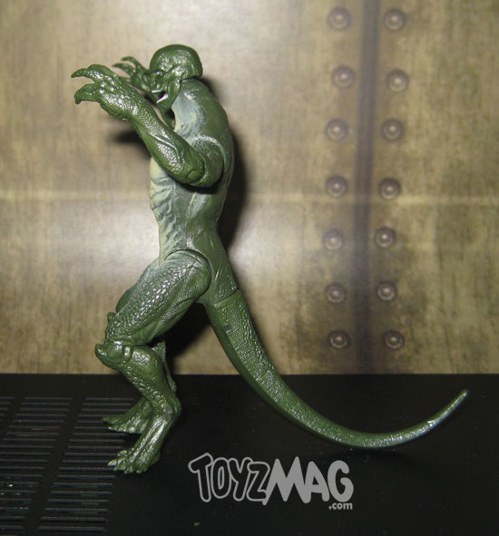 The Amazing Spider-Man movie Lezard lizard Hasbro 10cm