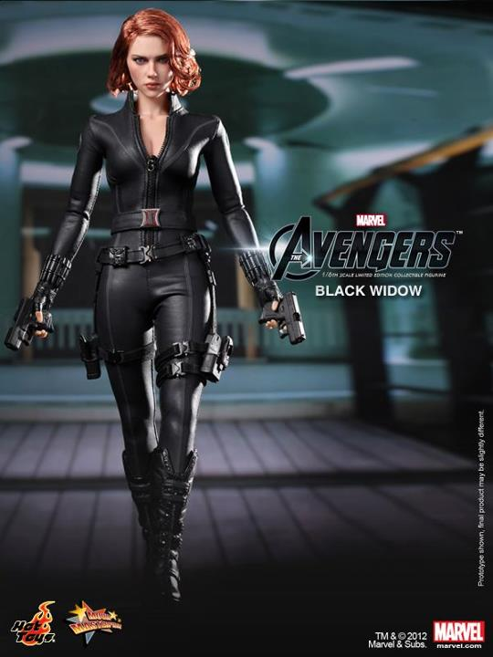 The Avengers Black Widow Limited Edition Collectible Figurine HOT TOYS