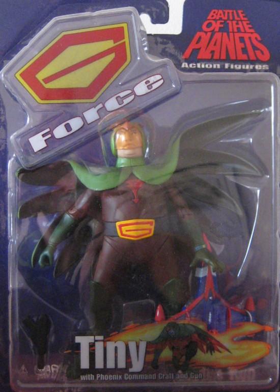 gatchaman Battle Of Planets Diamond Select Toys 2003 Allumette Ryu Tiny