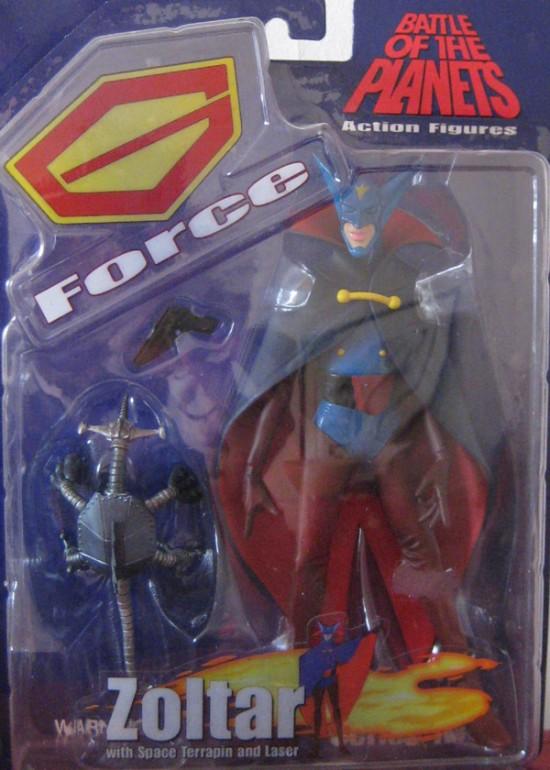 gatchaman Battle Of Planets Diamond Select Toys 2003 Zoltar