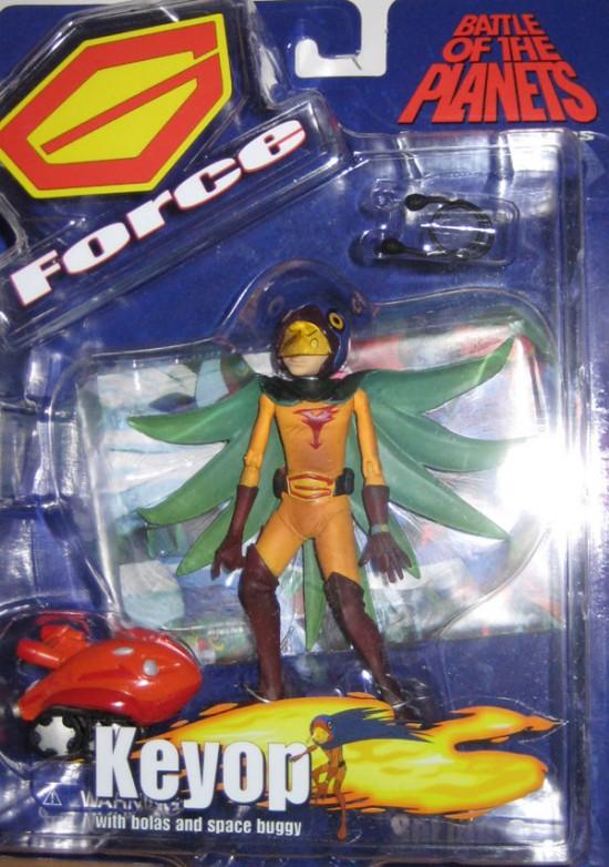 gatchaman Battle Of Planets Diamond Select Toys 2003 Keypo