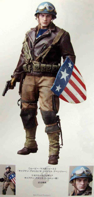 hot toys rescue captain america magazine