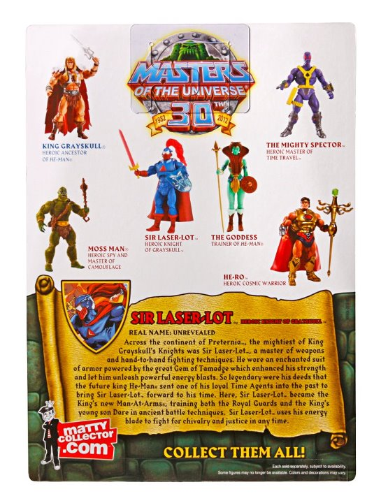 motuc sir laser-lot mattel