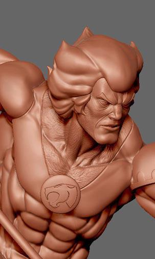 tygra Sculpted by Khurram H. Alavi Pop Culture Shock Collectibles, Inc THUNDERCATS