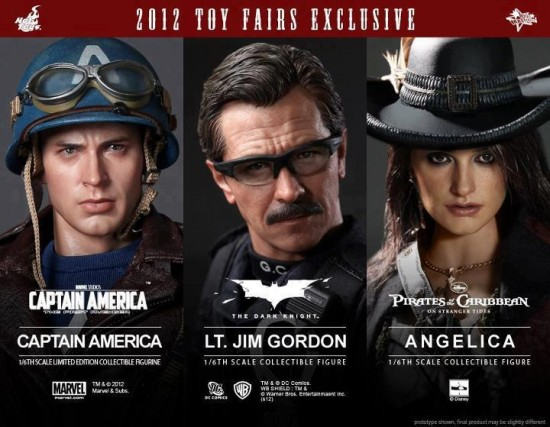 Captain America Godon angelica toy fairs exclue 2012 hot toys