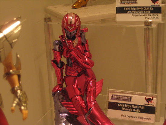 Tamashii nation japan expo 2012 thetis exclue saint seiya Myth cloth