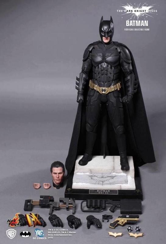 The Dark Knight Rises - Batman - HOT TOYS