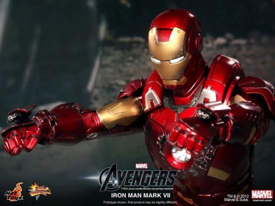 The avengers Hot Toys iron man mark VII