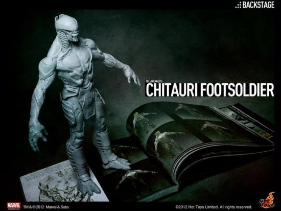 hot toys Chitauri the avengers