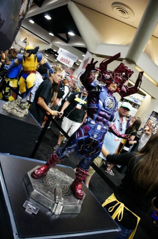 marvel sideshaow hot toys sdcc2012 Galactus