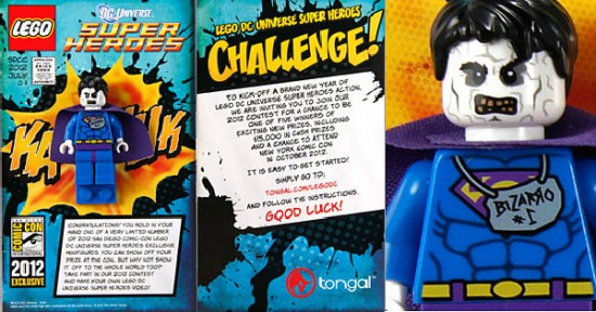 SDCC 2012 LEGO exclusife BIZARRO