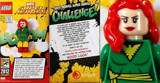 SDCC 2012 LEGO exclusive phoenix