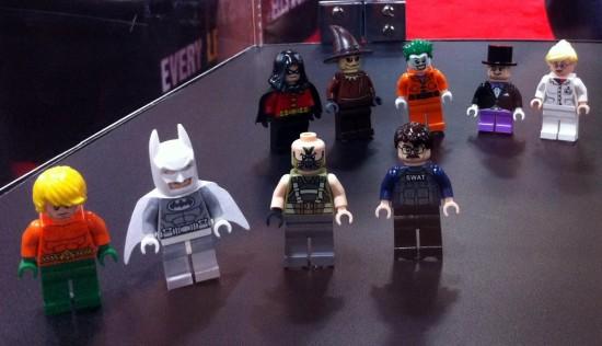 sdcc 2012 new heroes mini fig lega Batmn DC justice leagues