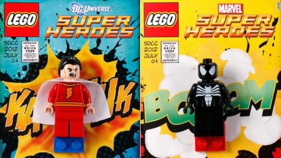 SDCC 2012 LEGO exclusive venom shazam