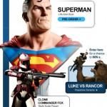 Sideshow : Superman et Commander Fox sont sur bateau…