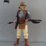 Star Wars Hasbro Saga Lando Calrissian Jabba's Sail Barge