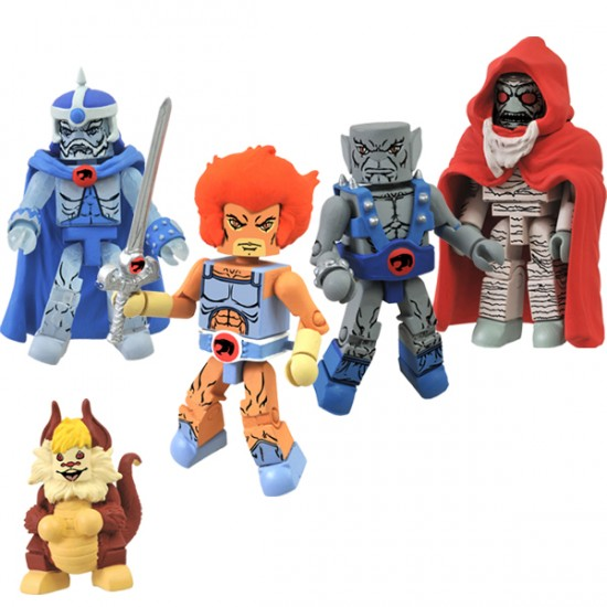 thundercats mninmates afx exclue SDCC 2012