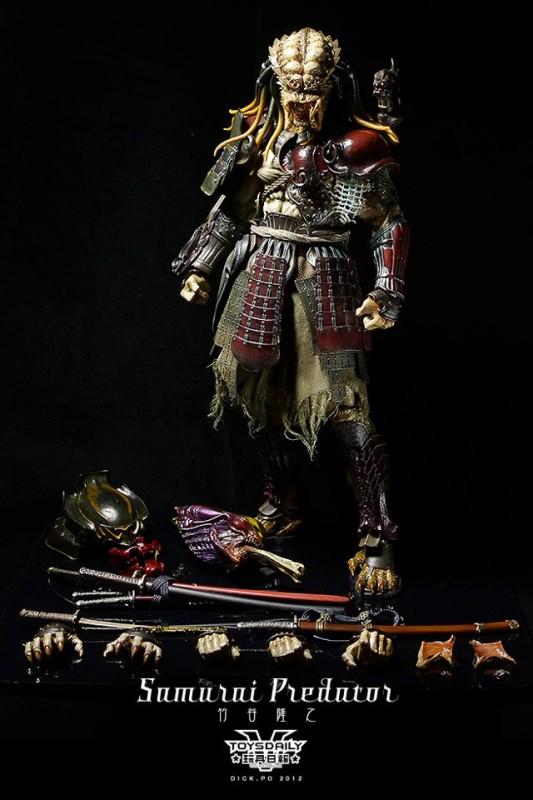 AVP samurai predator Hot Toys