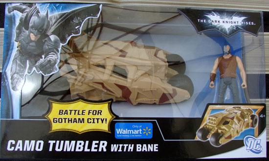 Cama Tumbler The Dark Knight Rises Mattel
