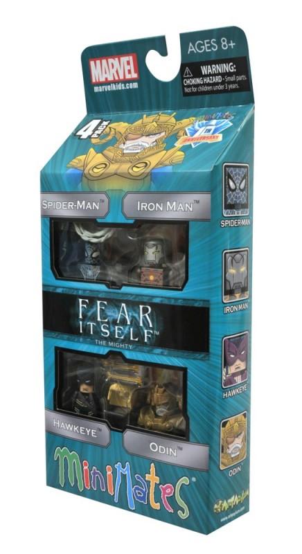 Fear Itself Minimates The Mighty Les héros MARVEL DST
