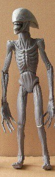 Prometheus Deacon aka Proto-Xenomorph or Proto-Alien NECA