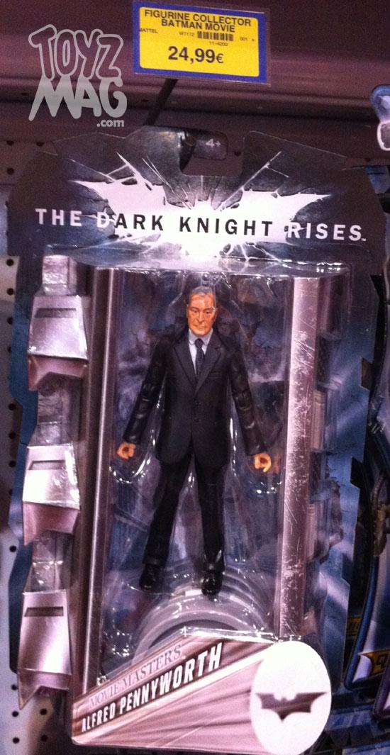 The Dark Knight Rises Mattel figurines Collector 6inch Alferd