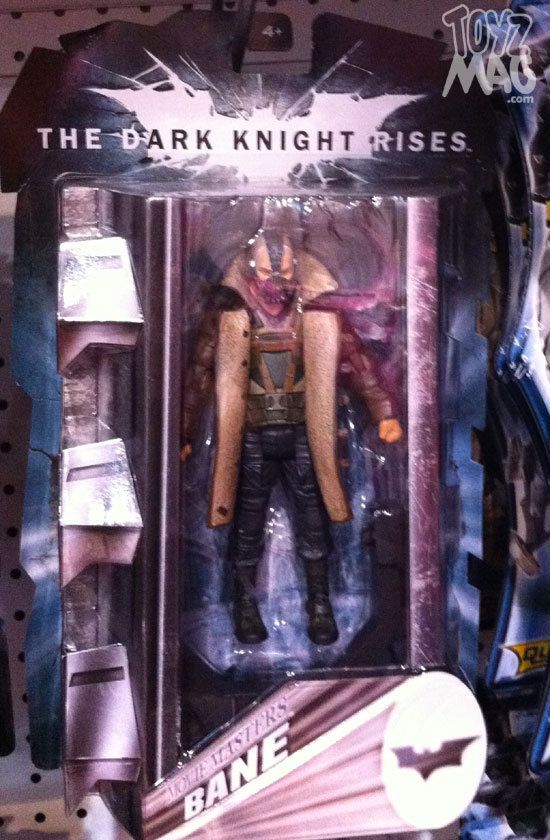 The Dark Knight Rises Mattel figurines Collector 6inch Bane